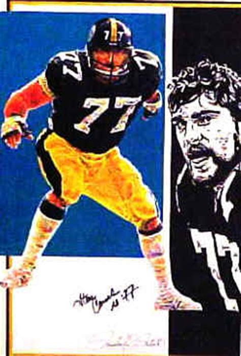 steelers iron curtain steroids steve courson 77 nfl pittsburgh steelers poster