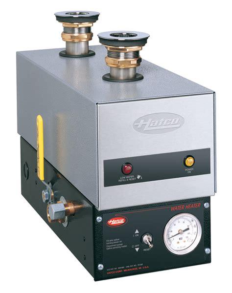 hatco 3cs 9 electric 9kw sanitizing sink water heater