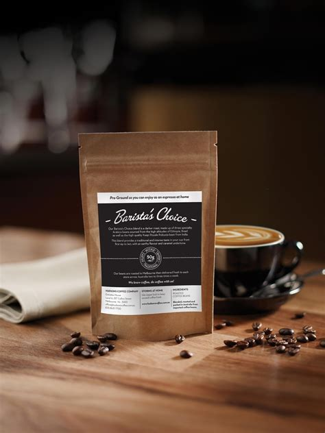 Whole and freshly ground coffee beans for sale. Win with Hudsons Coffee's New Barista's Choice Blend
