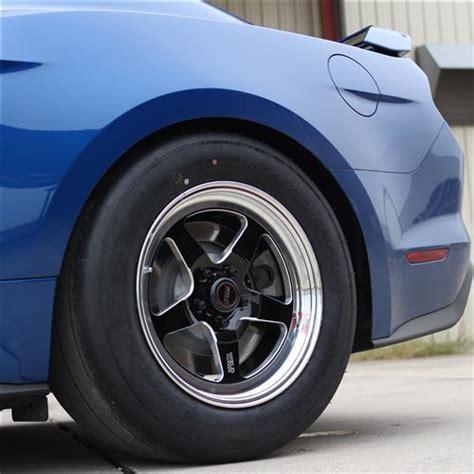 weld mustang rt  wheel tire kit xx black