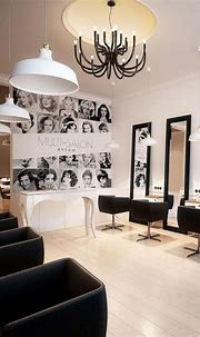 ALL HAIR MAKEOVER: Salon interior design