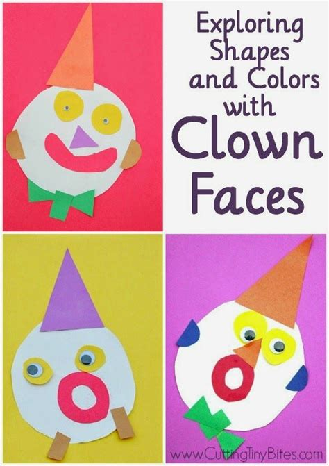 exploring shapes and colors with clown faces kid 640 | 246e42f2acde8afee72824eb125f155c