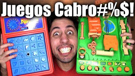 3 Juegos De Mesa Divertidos Pero Cabro#%$!!!!