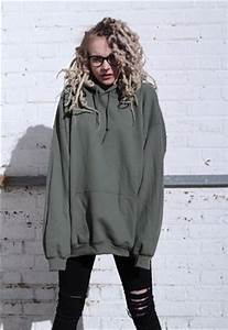 Oversized Boyfriend Army Green Hoodie | BLVCK GIRLS | ASOS Marketplace