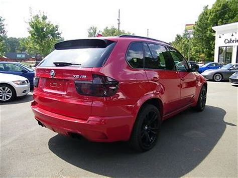 sell   bmw xm hp melbourne red black leather