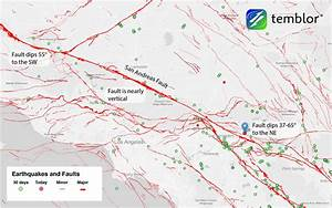 San Andreas Fault Earthquake Wakes San Bernardino And