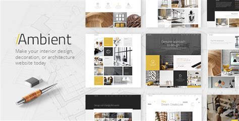 interior design portfolio ambient modern interior design and decoration theme by