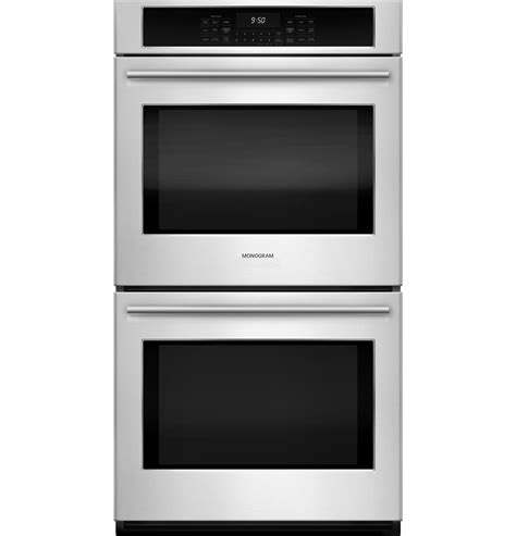 monogram  electric double wall oven zekshss ge appliances
