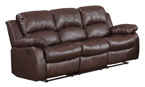 leather reclining sectional with chaise the best reclining leather sofa reviews loukas leather