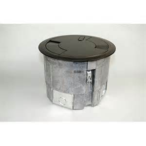 multi service round recessed floor box crfb legrand