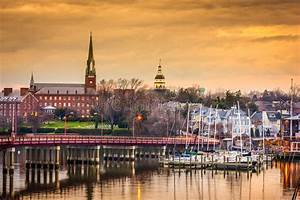 Annapolis Skyline Stock Photo - Image: 55155278