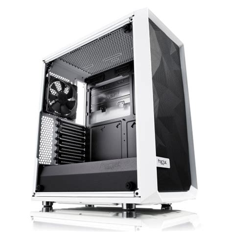 Gehäuse Design by Fractal Design Meshify C White Tg Markantes Geh 228 Use In