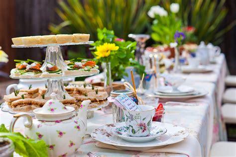 in tea decorations tea bridal shower in goleta ca amazing days events