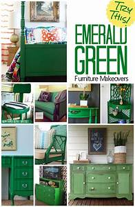 TRY THIS: Emerald Green Furniture Makeovers - Four