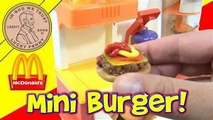 McDonald's Happy Meal Magic 1993 Hamburger Maker Set ...