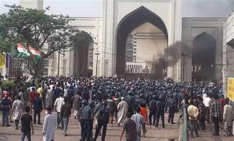 Radicals protest Modi visit, mosque area in Dhaka turns ...