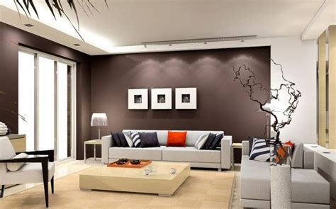 Wohnzimmer Braune Wand by Make A Brown Living Room Living Room In Brown 60 Ways