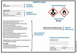 ghs hcs standards changing chemical drum labels With chemical label requirements