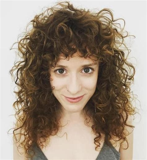 best 25 curly hair with bangs ideas on pinterest curly
