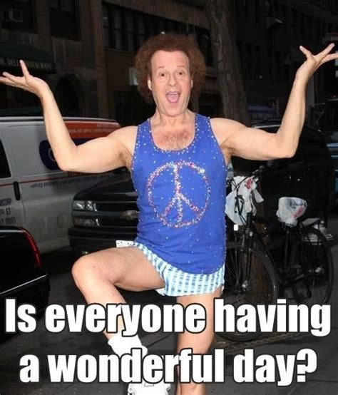 Richard Simmons Memes - best 25 richard simmons ideas on pinterest richard simmons costume funny fitness memes and
