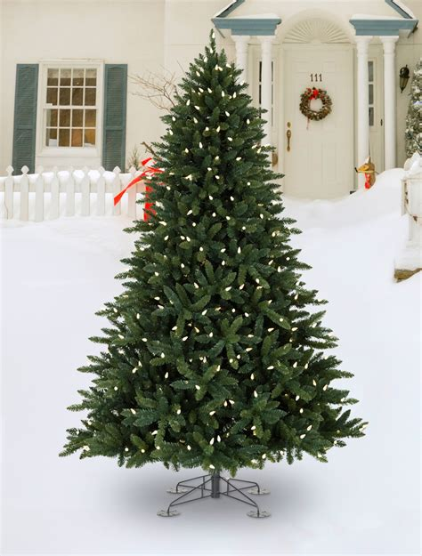 led light design best artificial trees with led