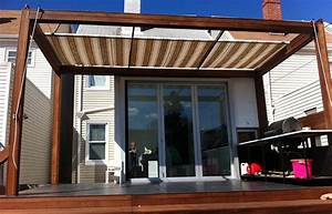 Retractable Awning Patio Backyard Ft Sunsetter Motorized