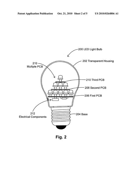 image gallery led light bulb diagram