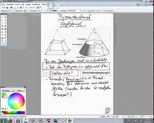 Abwicklung Rohr Berechnen : 186 pyramidenstumpf kegelstumpf erl uterungen und aufgaben youtube ~ Themetempest.com Abrechnung