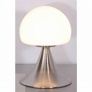 Lampe De Chevet Sans Fil : lampe de chevet tactile en alu bross achat lampe tactile ~ Dailycaller-alerts.com Idées de Décoration