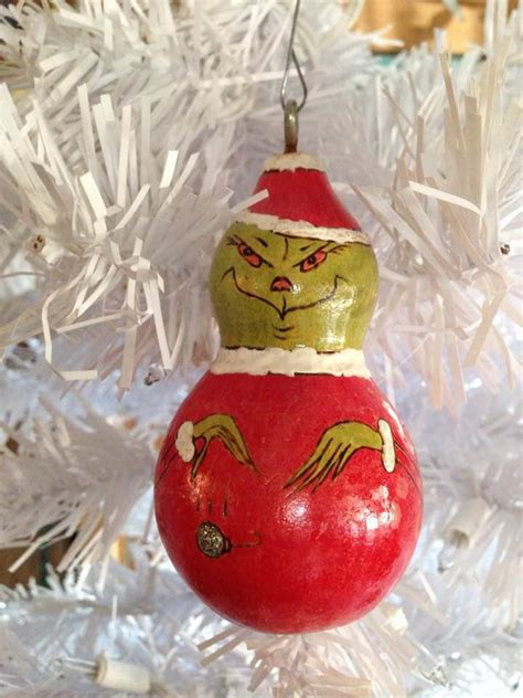 grinch gourd ornament favecraftscom