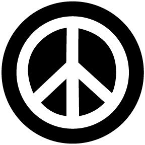 New Kitchen Gift Ideas - peace sign small button