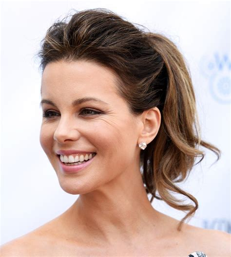 Carpet Ponytail Hairstyles by All Hail Kate Beckinsale Master Of The Majestic
