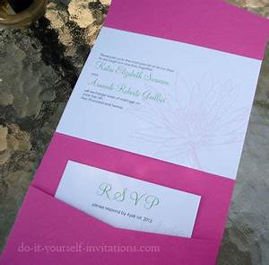 free wedding invitation templates With do it yourself wedding invitations online free