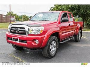 2006 Toyota Tacoma V6 Trd Access Cab 4x4 In Impulse Red