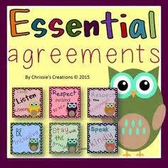 essential agreement images classroom rules