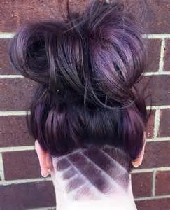 Nape Undercut Women Hairstyle Design