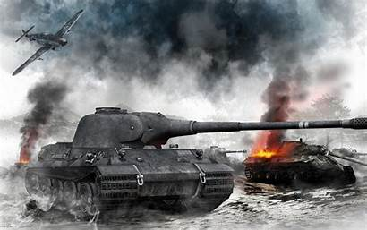 Tanks Graphics Smoke Games 3d Definition Resolutions