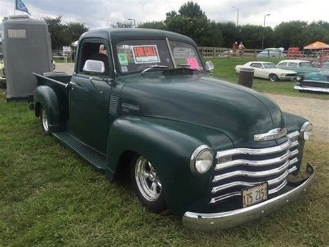 chevrolet c k 1500 3100 series truck 1950 green for sale ikljecjd25485 1950 chevy truck