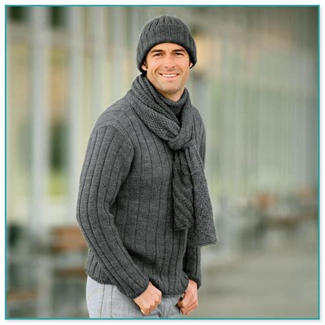 herren pullover selber stricken