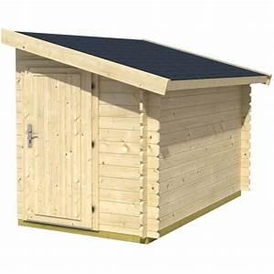 Abri De Jardin Auchan : abri jardin bois adossable bandya 28mm pas cher ~ Dailycaller-alerts.com Idées de Décoration