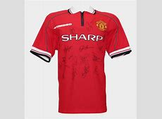 Manchester United Signed 1999 Treble Winners Jersey