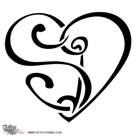 tatuaggi cuore e lettere tribes dai forma ai tuoi sogni tatuaggi con