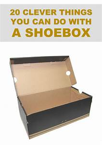 20 Clever Things You Can Do With a Shoebox