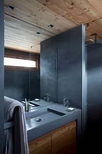 beton cire salle de bains les 5 erreurs a eviter cote With beton cire mur salle de bain