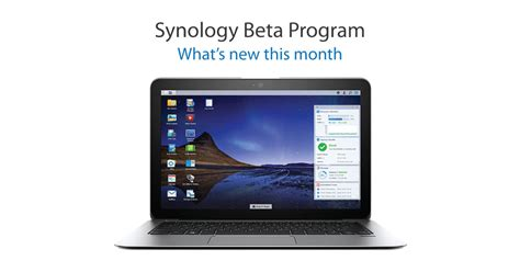 Synology® Announces Dsm 6.1 And Several Packages For Beta