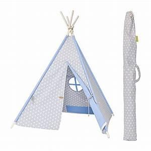 Spielzelt Für Kinder : my teepee mt01gr spielzelt f r kinder tipi made in ~ Whattoseeinmadrid.com Haus und Dekorationen