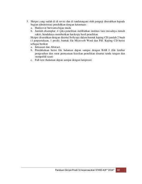 panduan skripsi kjp 2014 2