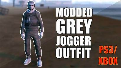 Gta Tryhard Xbox Outfit Grey Modded Ps3