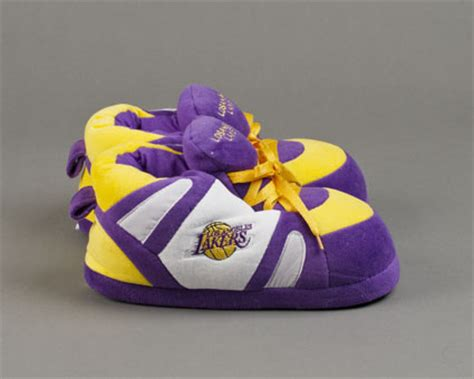 los angeles lakers slippers sports team slippers