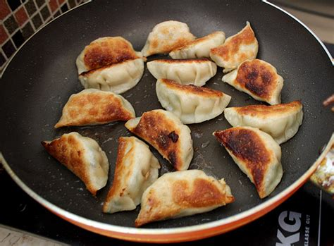 what are pot stickers pot stickers chive and pork china sichuan food